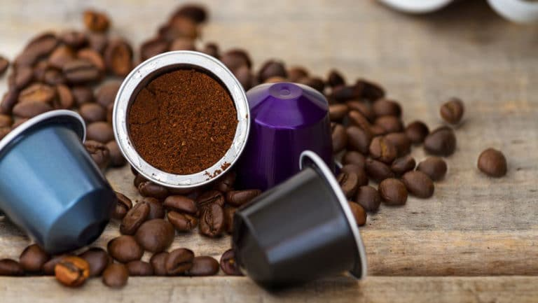 How much coffee per K cup?