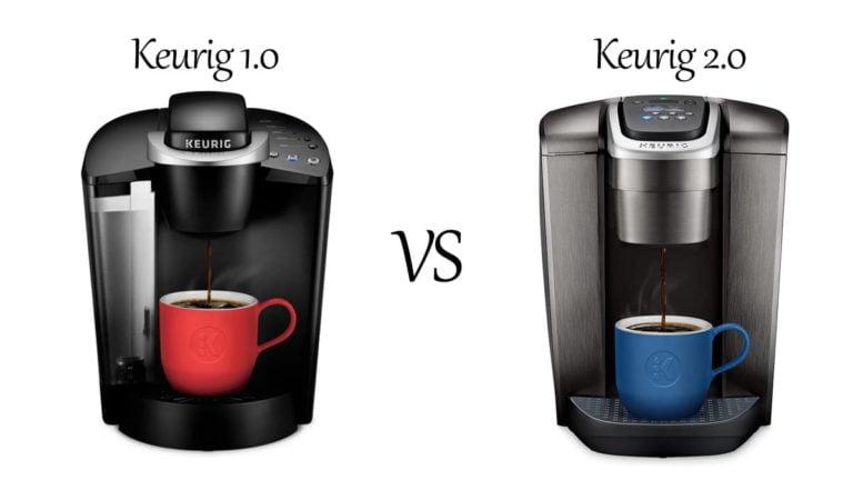 Keurig 1.0 vs 2.0