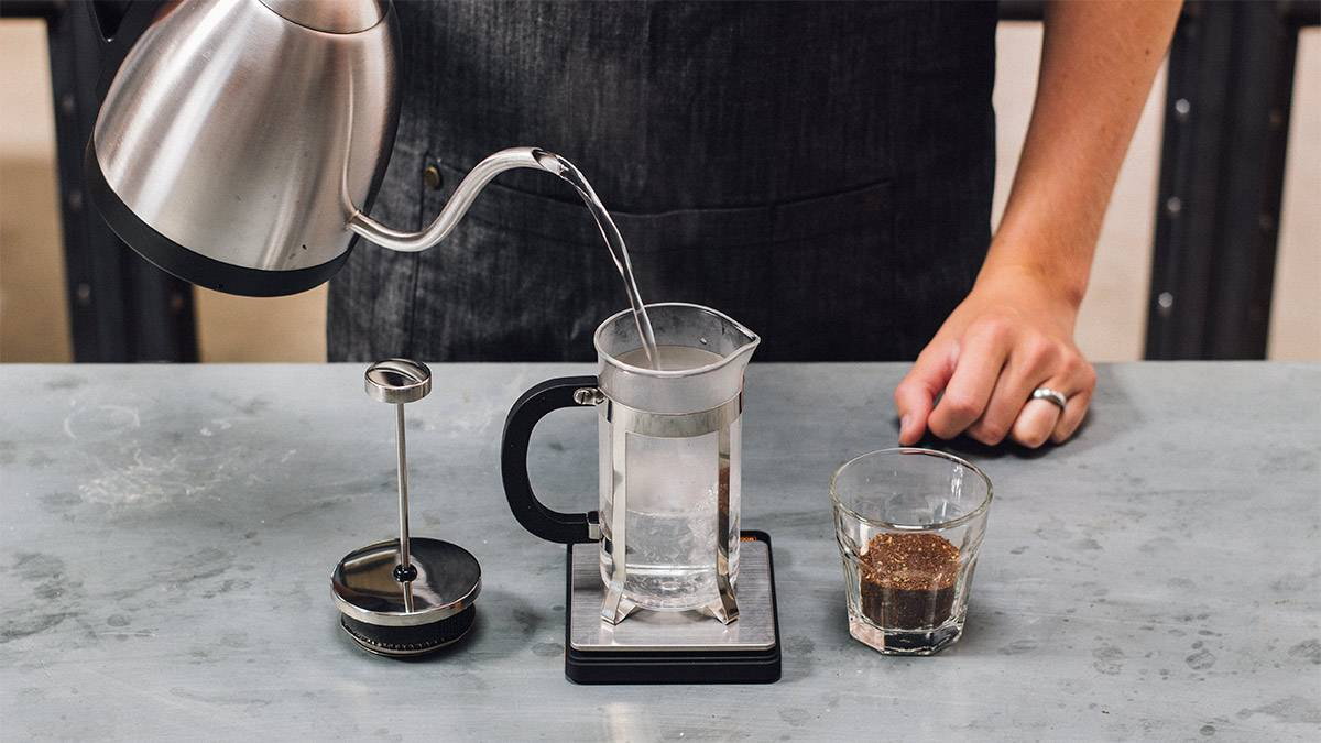 How To Use A Cafetiere
