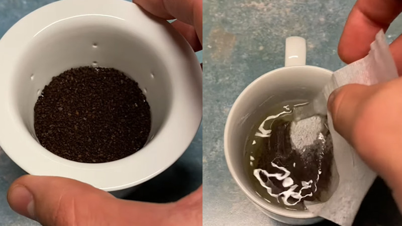 Can you use a tea infuser for coffee
