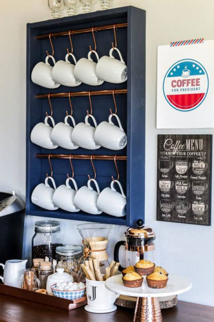Make your own coffee bar