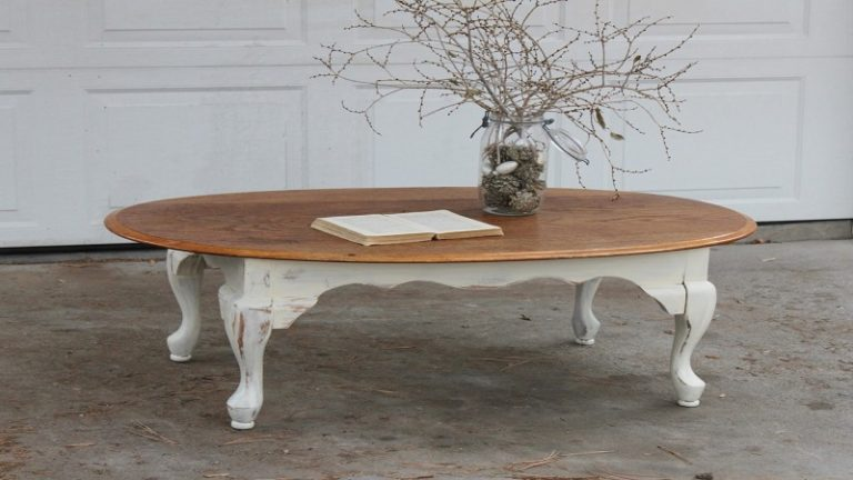 How To Paint A Coffee Table To Look Vintage - 8 Amazing And Successful Steps
