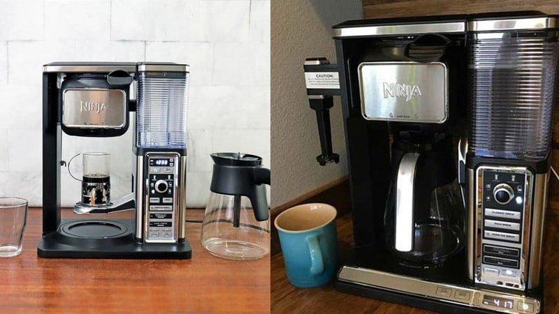 Ninja Coffee Bar CF091 vs CF097